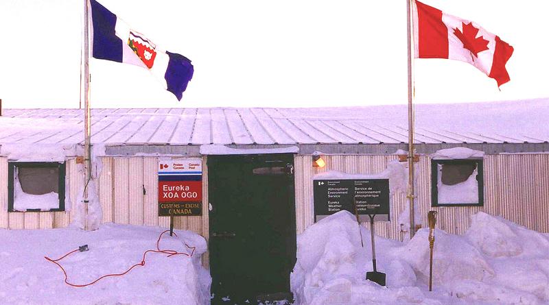 Station météo Eureka, Canada