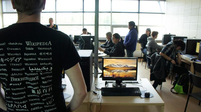 Wikipetcia Atikamekw en classe